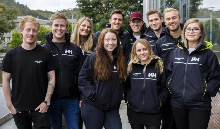 Fadderstyret på Universitetet i Stavanger vil lage verdens lengste frokostbord. (Foto: Pia Vinningland, Studentmediene i Stavanger (SmiS))