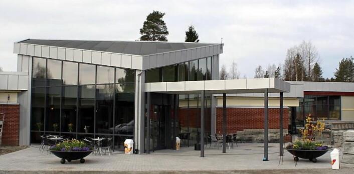 Det nye inngangspartiet til gjestegården. (Foto: Slobrua Eiendom)