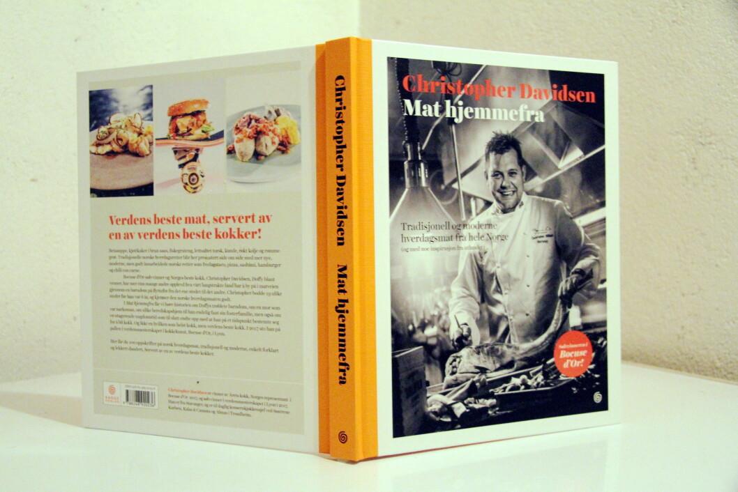 Christopher W. Davidsens debutbok: Mat hjemmefra. (Foto: Morten Holt)