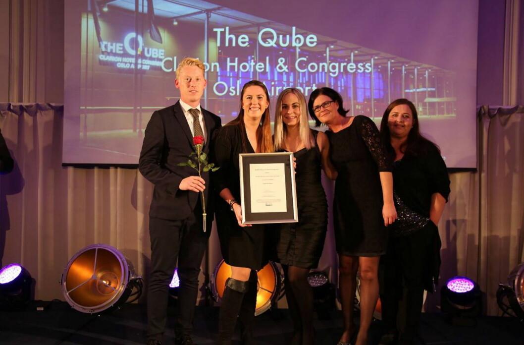 The Qube stakk av med prisen som Beste storarena. (Foto: Camilla Bergan)
