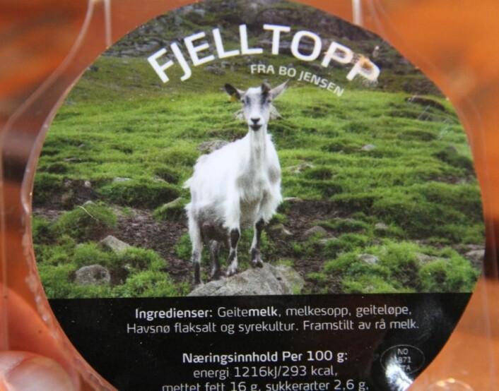 Fjelltopp. (Foto: Morten Holt)