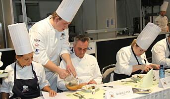Representerer Norge i S. Pellegrino Young Chef