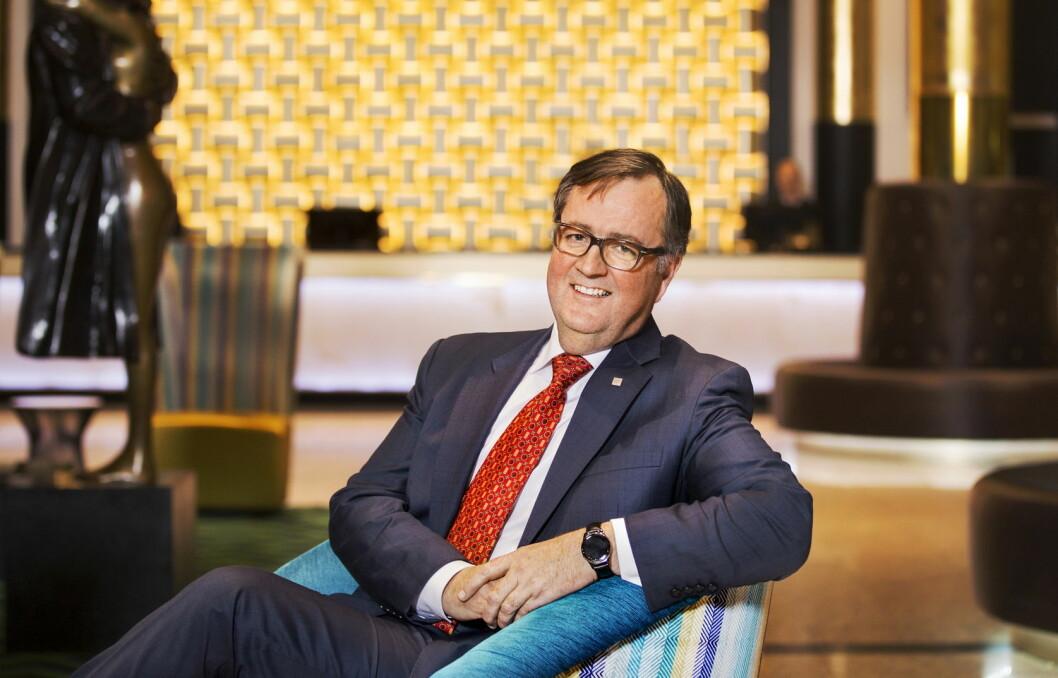 Konserndirektør for Thon Hotels, Morten Thorvaldsen, melder at kjeden får fem nye hoteller i januar 2018. (Foto: Thon Hotels)