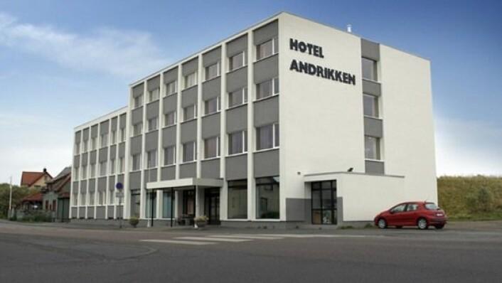 Andrikken Hotel er ett av fem nye hoteller i Thon Hotels fra januar 2018. (Foto: Hotellet)