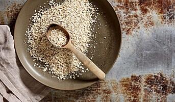 Ny müsli-miks uten salt og sukker