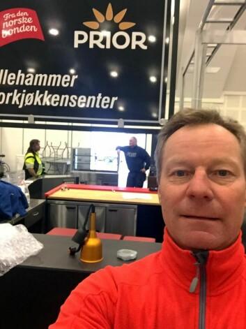 Konrad Sel og de andre arrangørene er klare for den 12. utgaven av Østlandske Storhusholdning. (Foto: Privat)