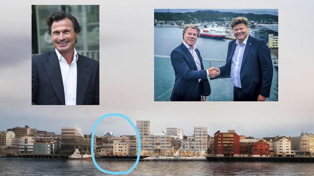Her blir det nytt Quality-hotell i Bodø. (Illustrasjon: Nordic Choice Hotels)