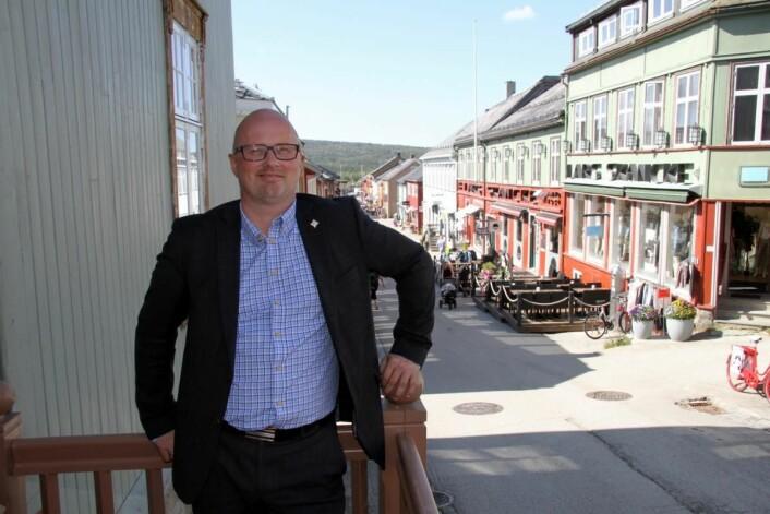 Terje Lysholm og Røros Hotell AS har økt beslegget i 2017. (Foto: Morten Holt)