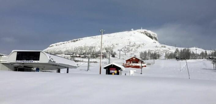 Nok snø i høyden, som på Skeikampen. (Foto: Thon Hotels)