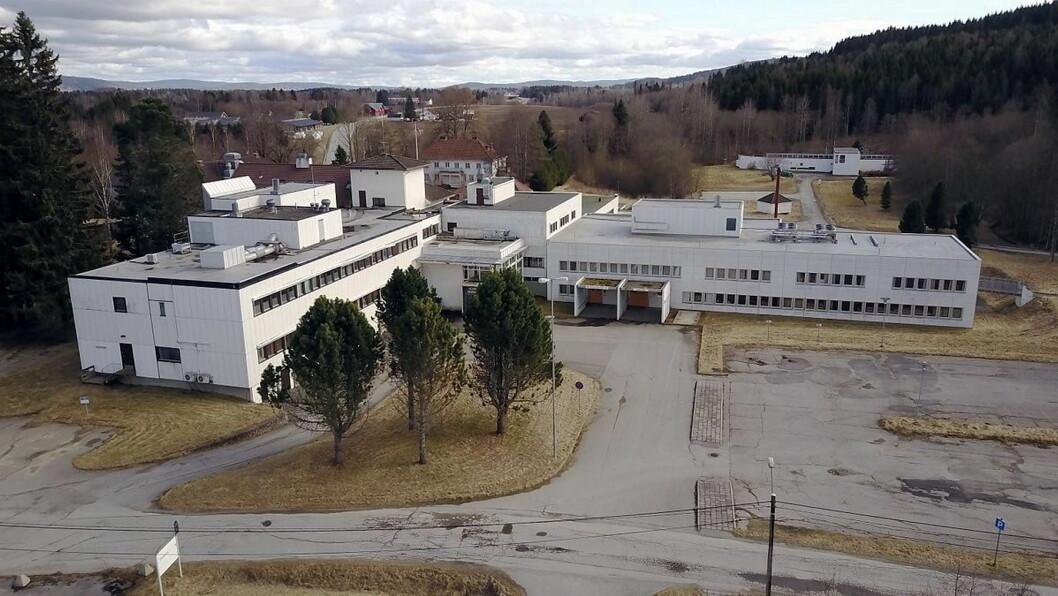 Tidligere Stensby sykehus i Eidsvoll blir nå flyplassmotell. (Foto: Wikipedia)