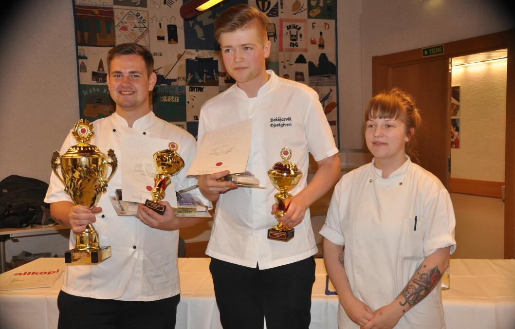 Sindre Iversen og Andreas Gjuvsland fra Bekkjarvik Gjestgiveri vant i helga Bergen Cup. (Foto: Arrangøren)