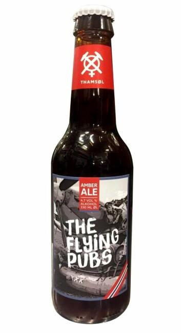Thamsøl lanserer The Flying Pubs.