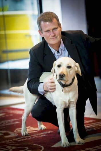 Magnus Berglund, tilgjengelighetsambassadør i Scandic Hotels. (Foto: Scandic)