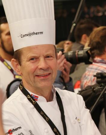 Lars Erik Underthun tok Norges første Bocuse d'Or-medalje. (Foto: Morten Holt)