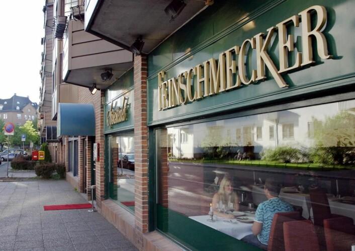 Bocuse d'Or-meny på Feinschmecker i Oslo. (Foto: Morten Holt)