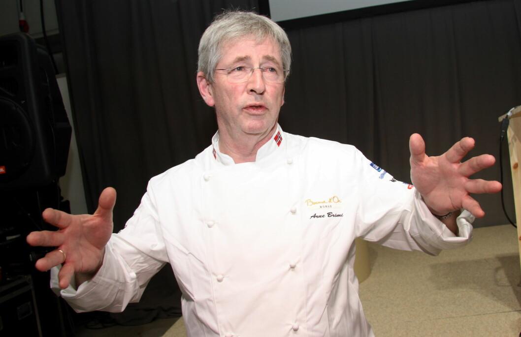 Arne Brimi inviterer til gastronomiske festdager i hjembygda. (Foto: Morten Holt)