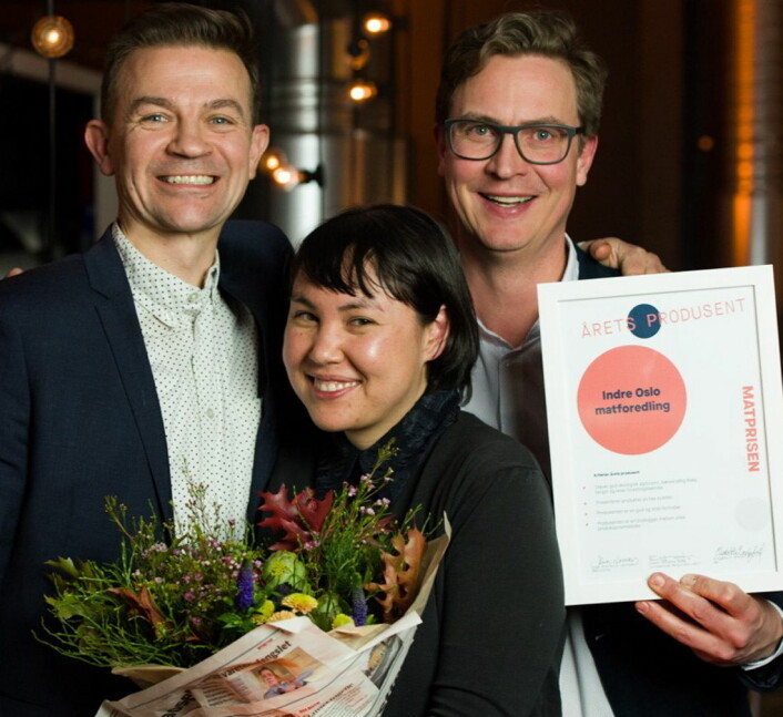 Årets produsent: Indre Oslo matformidling. (Foto: Joachim Sollerman)