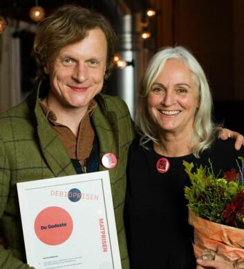 Debioprisen til Du Godeste. (Foto: Joachim Sollerman)
