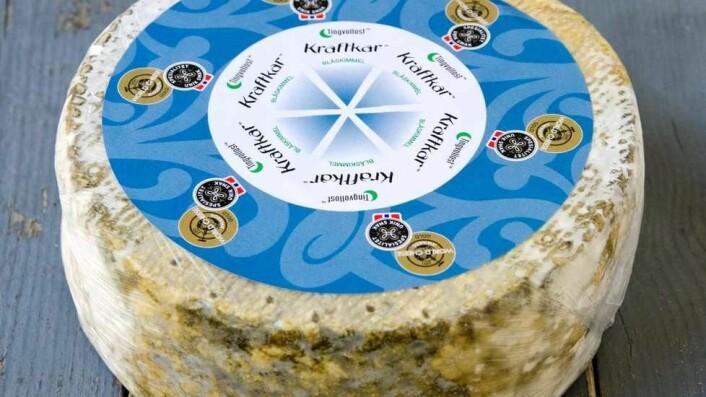 Kraftkar fra Tingvollost vant World Cheese Awards i fjor. I år kjemper 40 norske oster om tittelen. (Arkivfoto)
