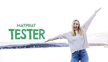Har lansert serien MatPrat Tester