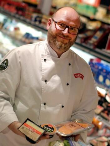 Kokk og leder av MENY-Lauget, Espen S. Lie. (Foto: Meny)