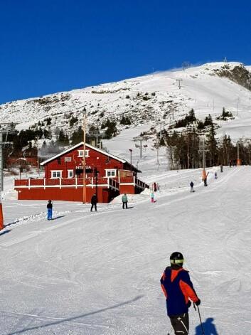 r enn nok snø på. Sleikampen. (Foto Thon Hotels)