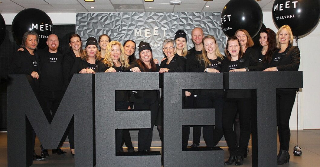 Ansatte hos Meet Ullevaal. (Foto: Meet Ullevaal)