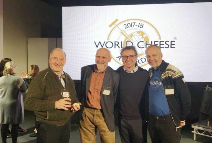 Norsk ost i verdensklasse. I november 2018 kommer oste-VM til Bergen. (Foto: Privat)