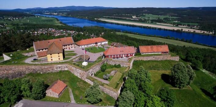 Festningen Hotel & Resort ligger på Kongsvinger festningf. (Foto: De Historiske)