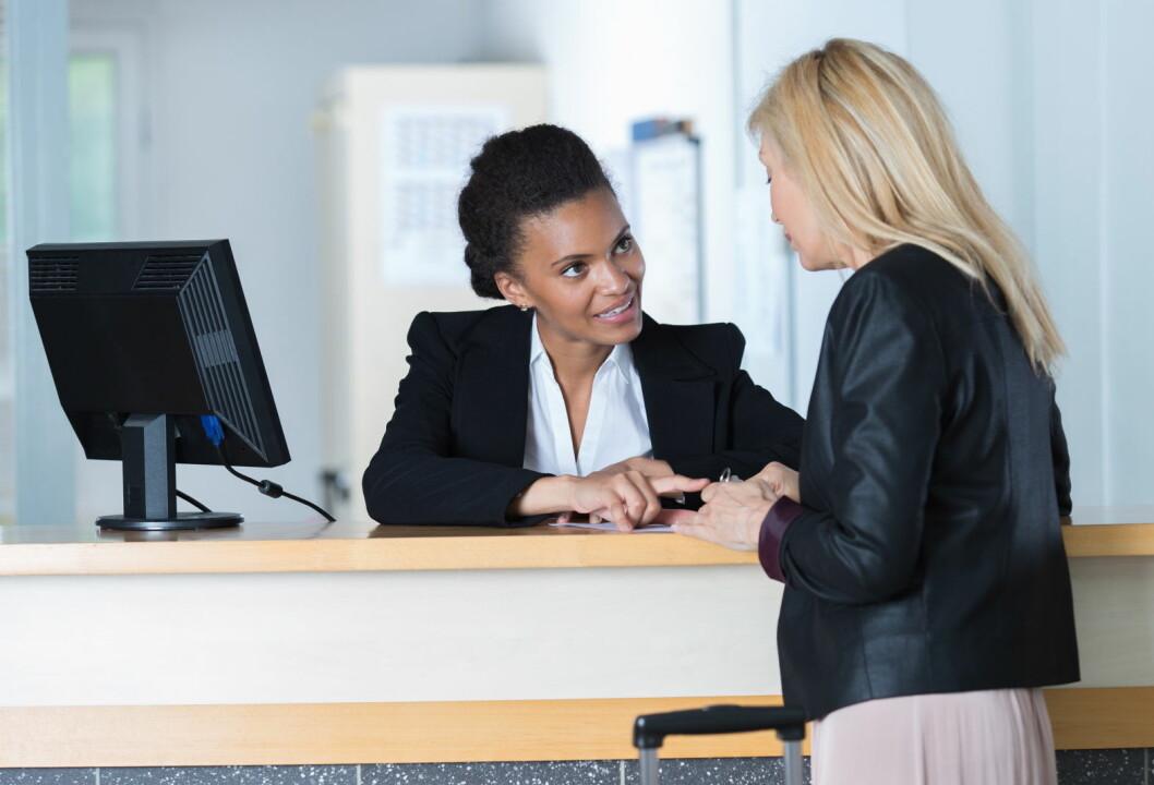 Menneskelig kontakt er viktig for norske forretningsreisende. (Illustrasjonsfoto: Colourbox.com)