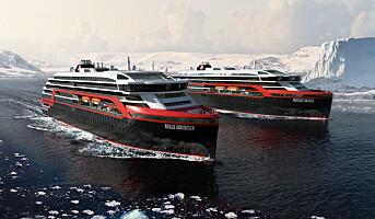 Nye hybridskip skal seile norskekysten