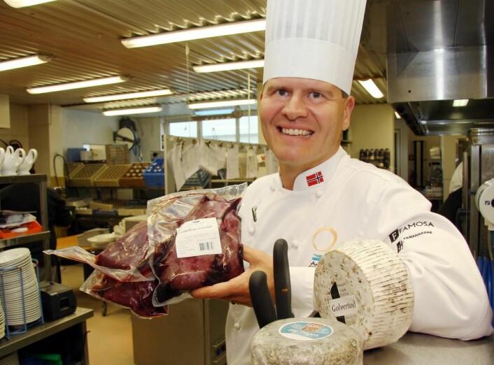 Svein Jæger Hansen har vært en forkjemper for arktisk og nordnorsk mat. (Foto: Morten Holt)