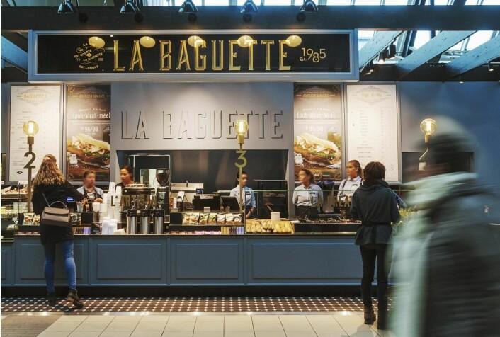 """Fra åpningen av """"nye"""" La Baguette på Oslo S. (Foto: La Baguette)"""