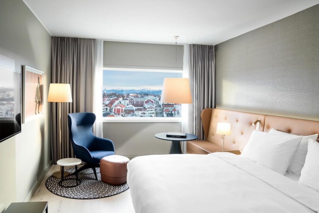 Nytt gjesterom hos Radisson Blu Atlantic Hotel, Stavanger. (Foto: Lisa Löwenborg)