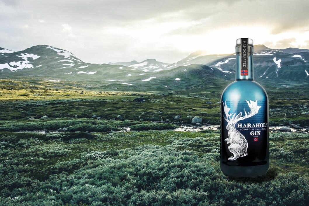 Harohorn gin setter stadig nye rekorder for Det Norske Brenneri. (Foto: Det Norske Brenneri)