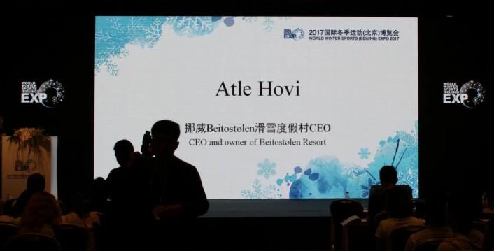 Atle Hovi og Beitostølen markerer seg i Kina. (Foto: DestinasjonsKirurgene)