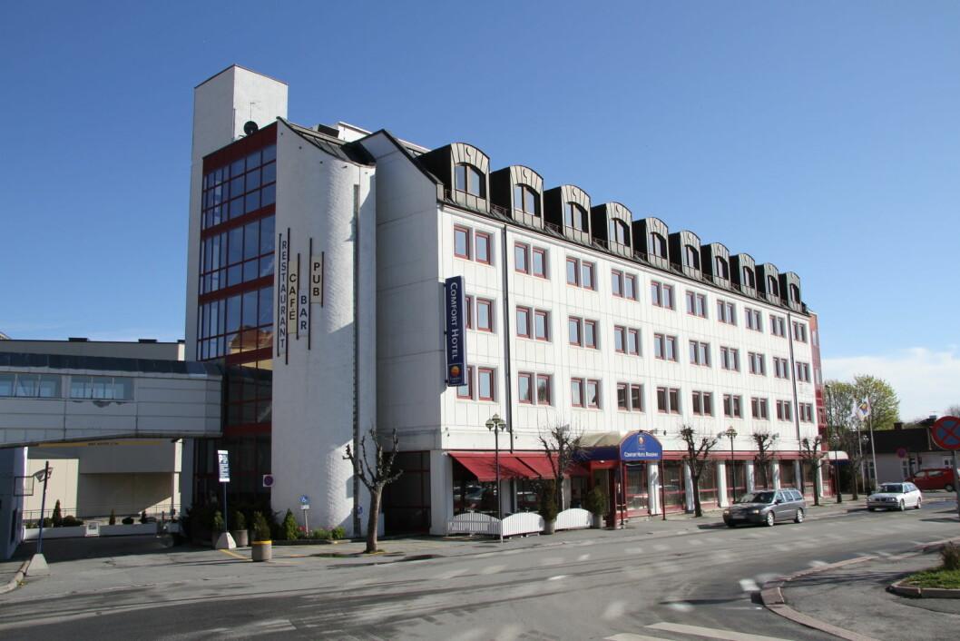 Comfort Hotel Ringerike. (Foto: Morten Holt)