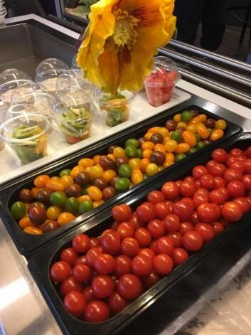 Er det mer fristende å spise mangefargede cherrytomater enn bare røde tomater? (Foto: Nofima)