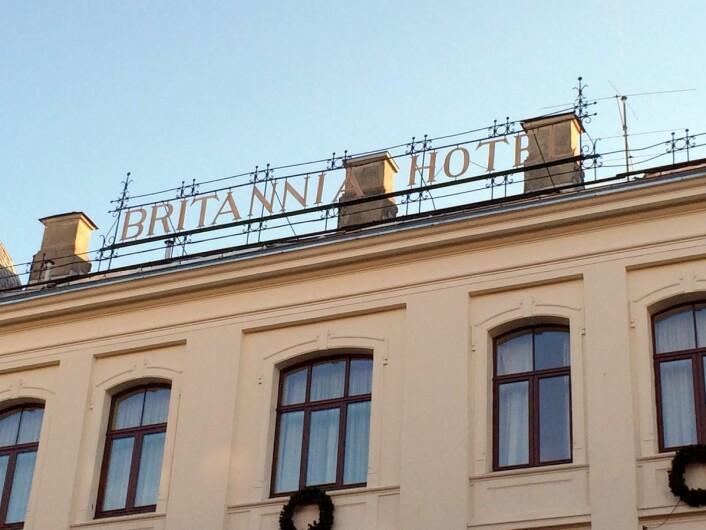 Britannia Hotel gjenåpnes i 2019. (Foto: Morten Holt)