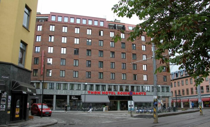 Thon Hotel Rosenkrantz. (Foto: Morten Holt)
