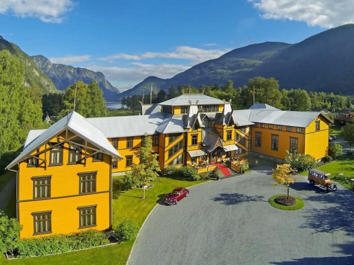 Dalen Hotel er beste hotell utenfor hovedstaden på TripAdvisors liste for Norge i 2017. (Foto: De Historiske)