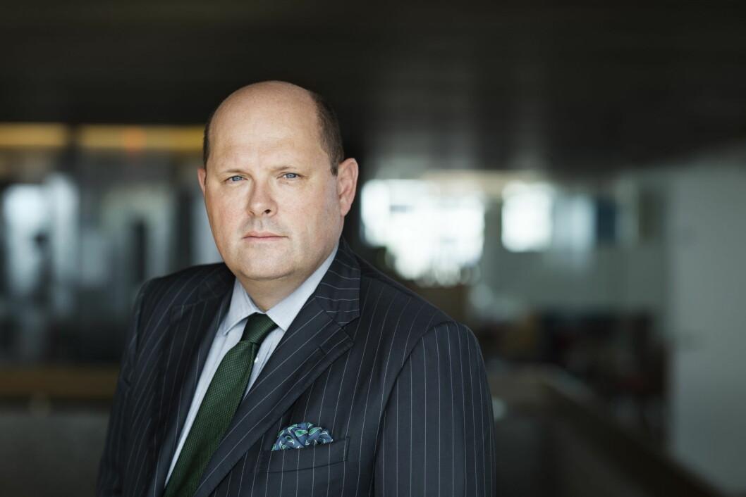 Administrerende direktør i NHO Mat og Drikke, Petter Haas Brubakk. (Foto: NHO Mat og Drikke)