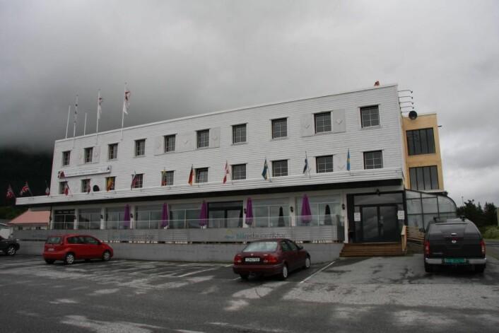 Bjerkvik Hotell. (Foto: Morten Holt)