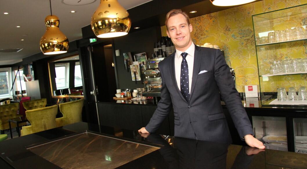 Lars Petter Mathisen er en av de nominerte til «Årets Hoteliér 2017». (Foto: Morten Holt)