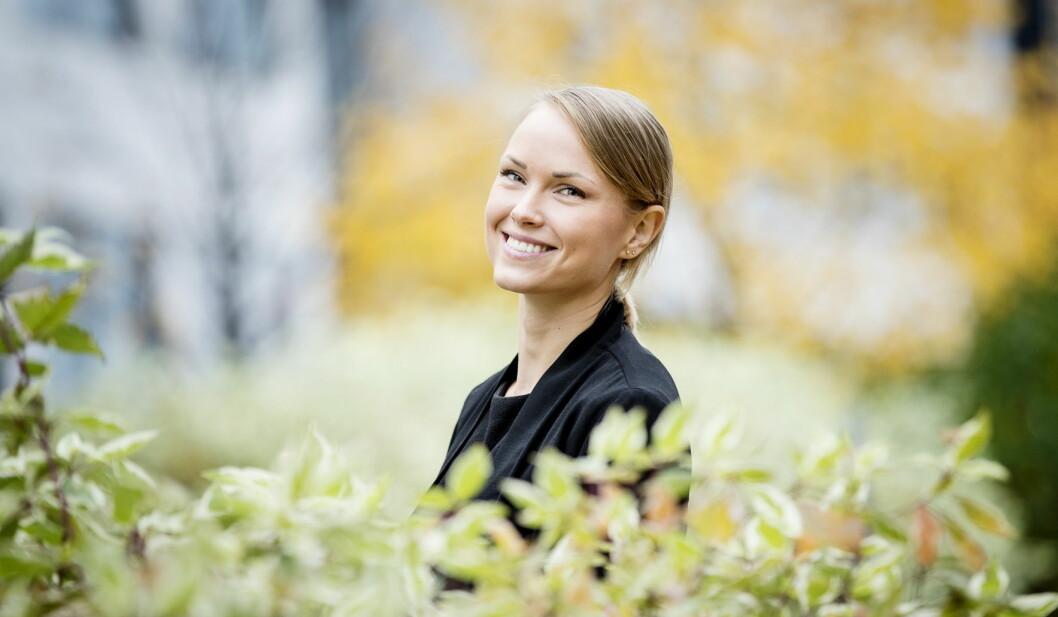 Evelina Söderholm (30) startet som food & beverage-manager like før jul i 2017. (Foto: Leon)