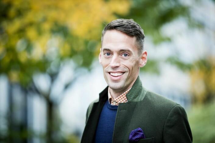 Hans Rabben kommer i likhet med administrerende direktør for Leon i Skandinavia, Helene Skjenneberg, fra Mat & Drikke AS. (Foto: Leon)