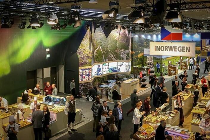 Norges stand på Grüne Woche 2017. (Foto: Landbruks- og matdepartementet)