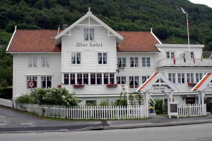 Utne Hotel er representert på Grüne Woche 2018. (Foto: Morten Holt)