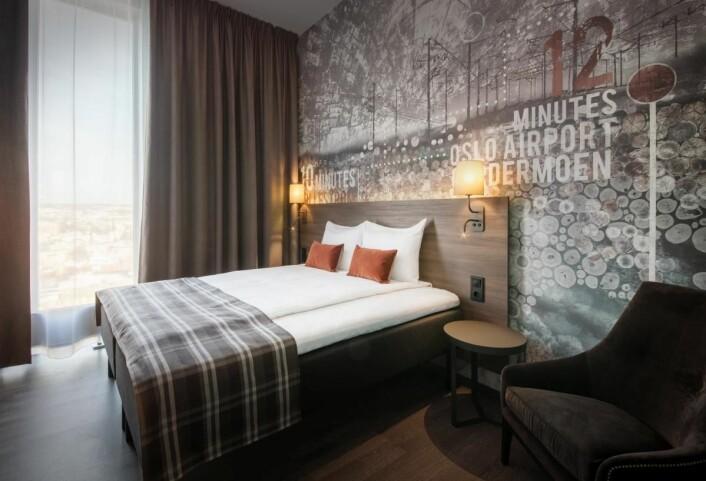Scandic Lillestrøm har 220 rom. (Foto: Tord-Erik Andersen)