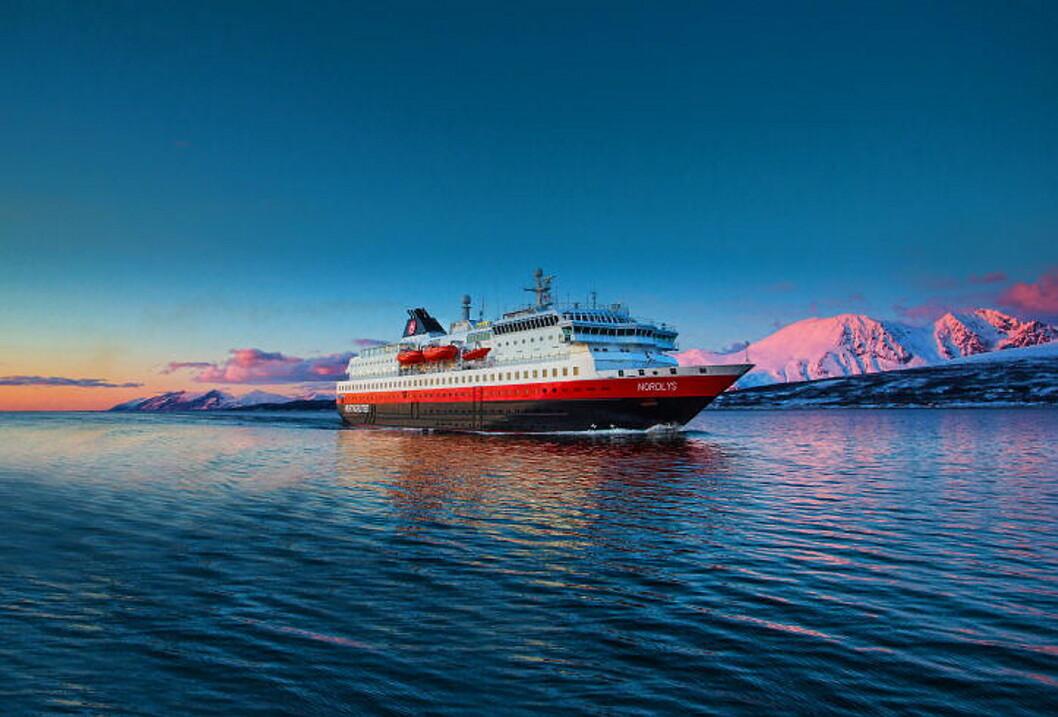 MS Nordlys. (Foto: Hurtigruten)
